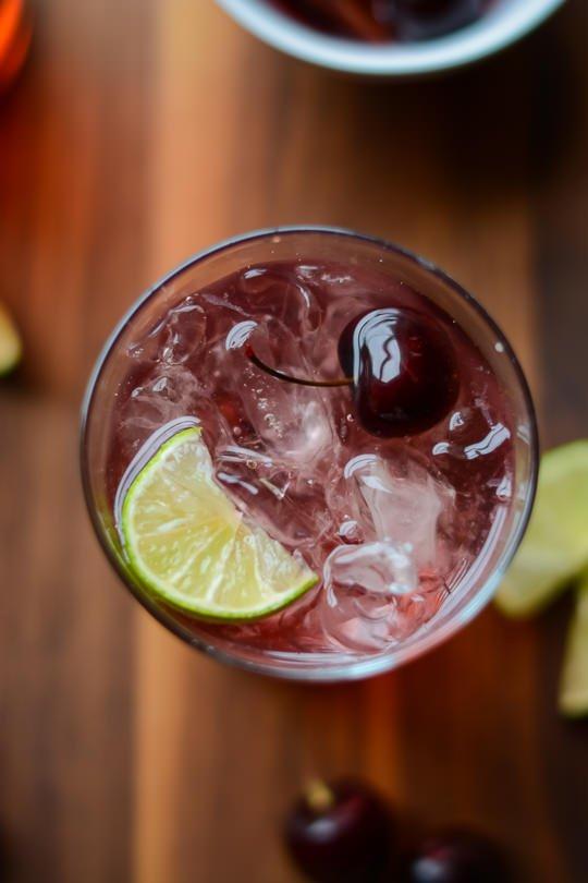 Dark Cherry Drinking Vinegar
