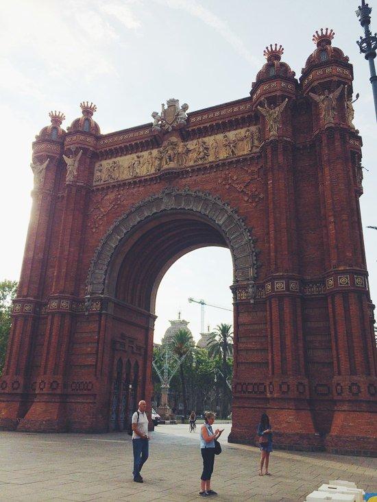 Barcelona a walk through history - www.scalingbackblog.com