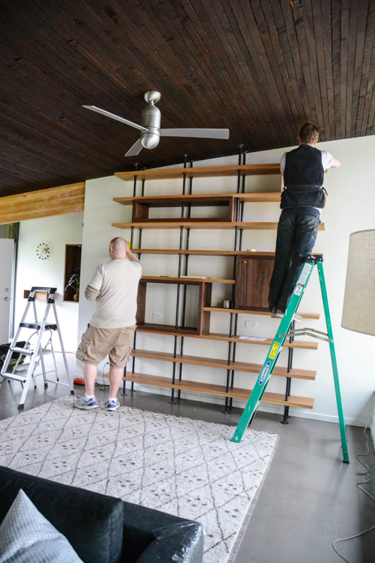 Scaling back a home, living with less