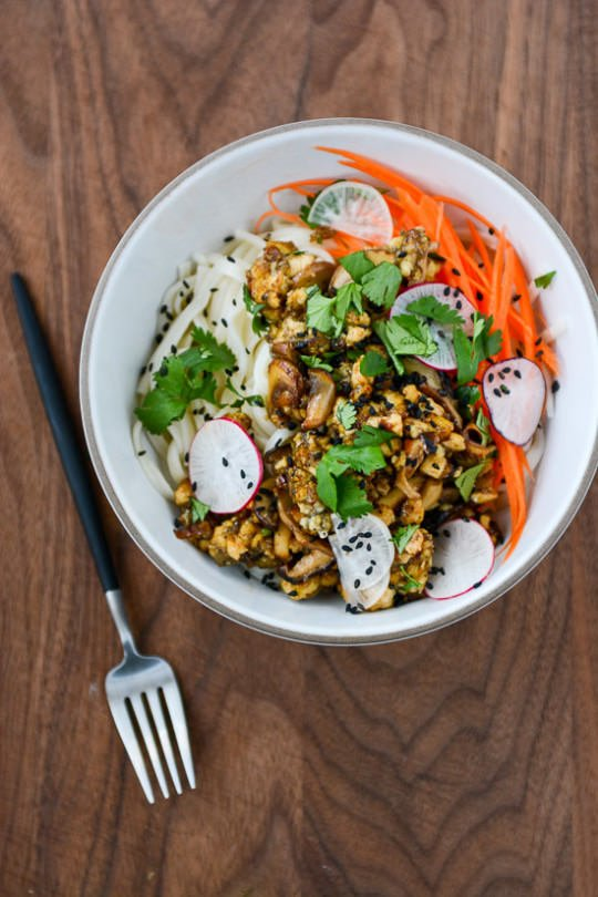 Umami Bomb Tofu Bowls | This is the meatiest vegan bowl you'll ever eat! | Scaling Back