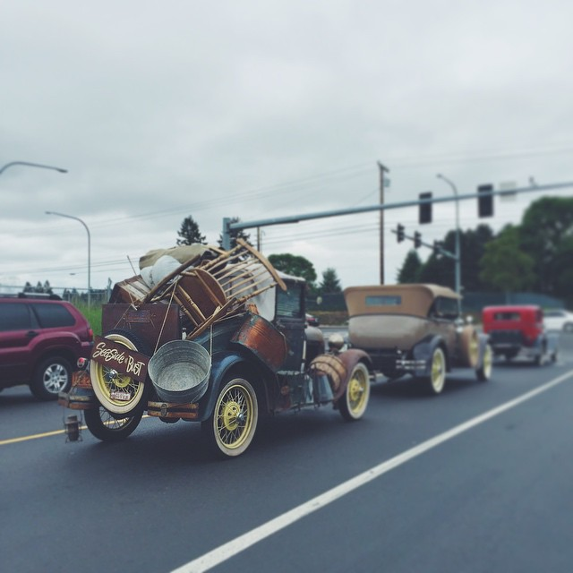 Everything but the kitchen sink. #vintage auto #classiccars #instagood