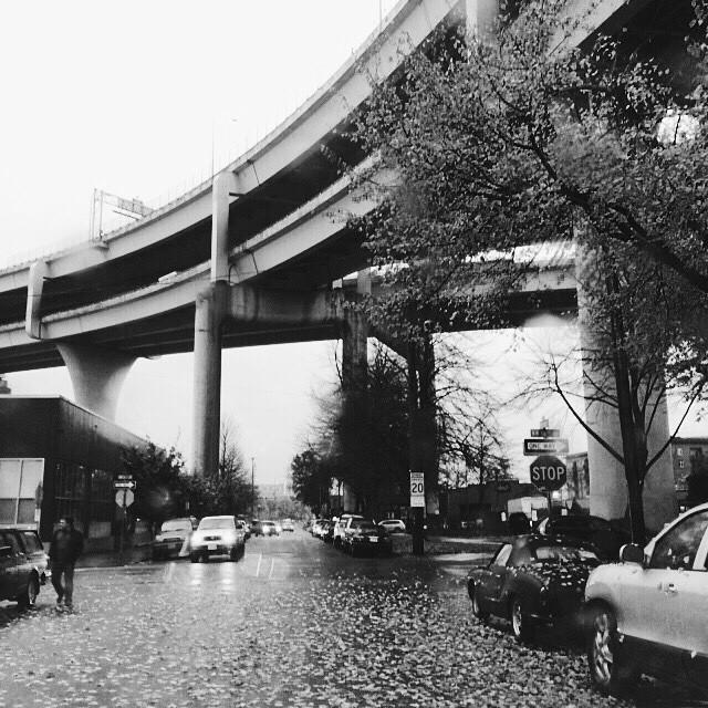 Blustery... #PDX #rain #VSCOcam