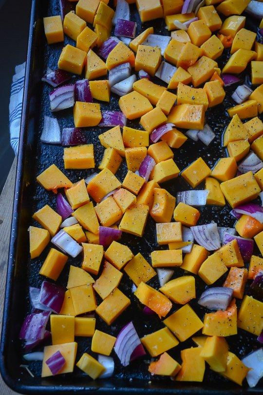 Ricotta stuffed shells with butternut squash sauce   www.scalingbackblog.com