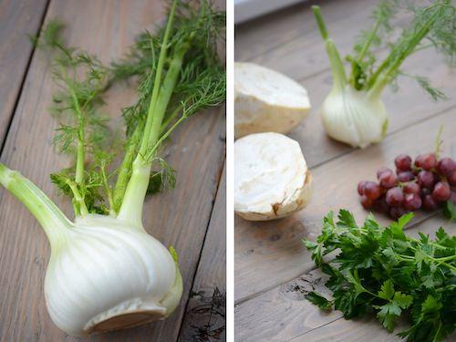 celery root salad - www.scalingbackblog.com