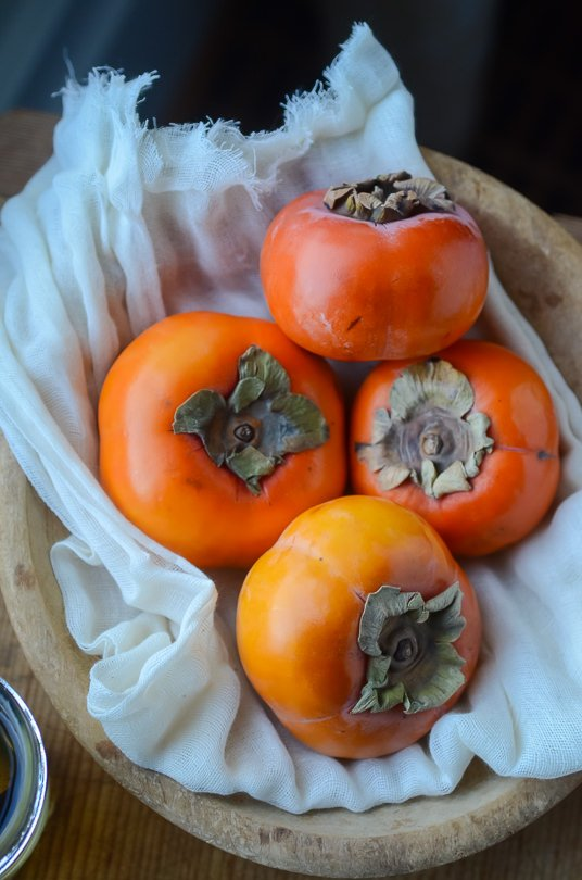 The perfect fall breakfast, cardamom roasted persimmons | scalingback