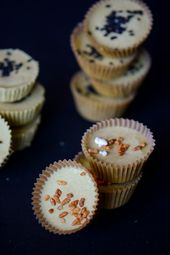 5 ingredient green tea coconut butter cups, Vegan, gluten-free, dairy-free, no refined sugar