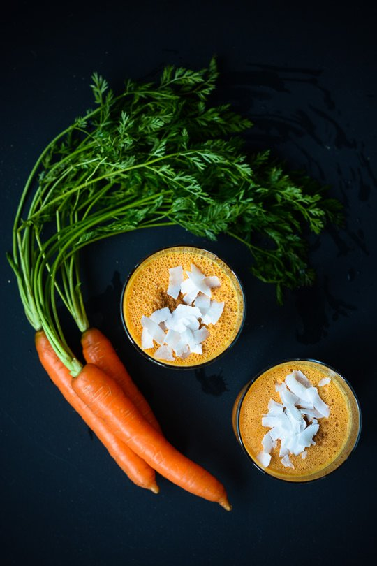 Vegan carrot cake smoothie - Scalingback