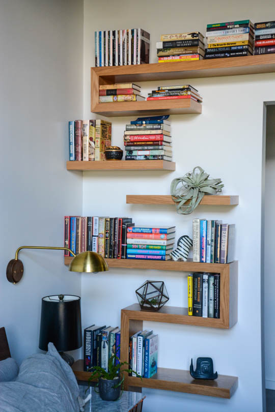 creating a bookcase