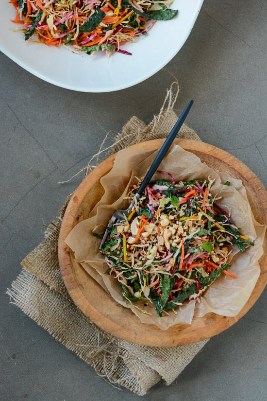 Rainbow Detox Salad | Scaling Back