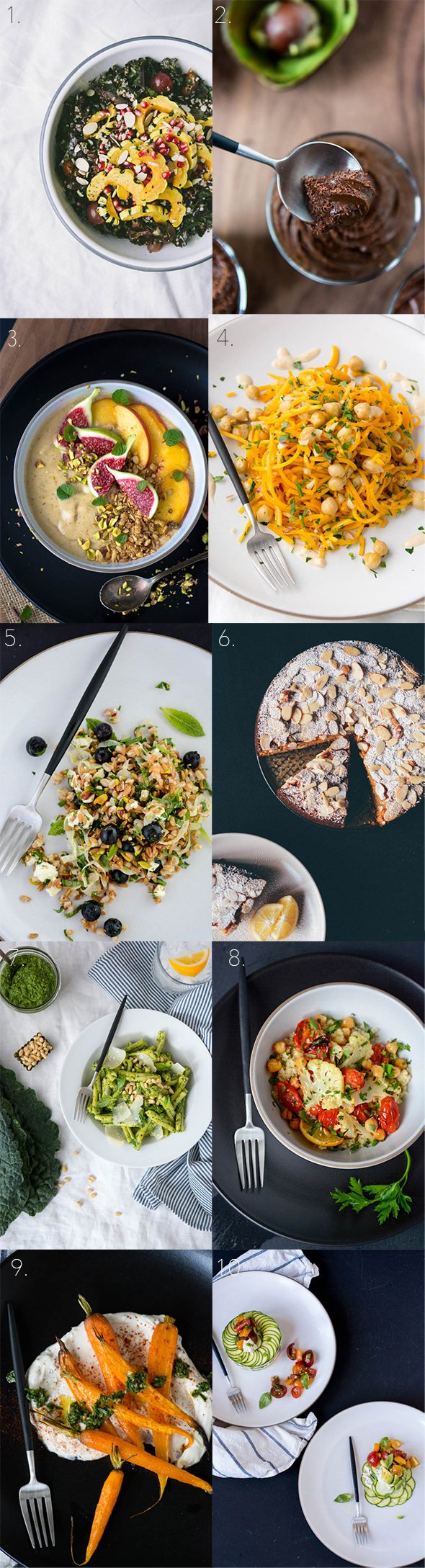 Top 10 recipes of 2015