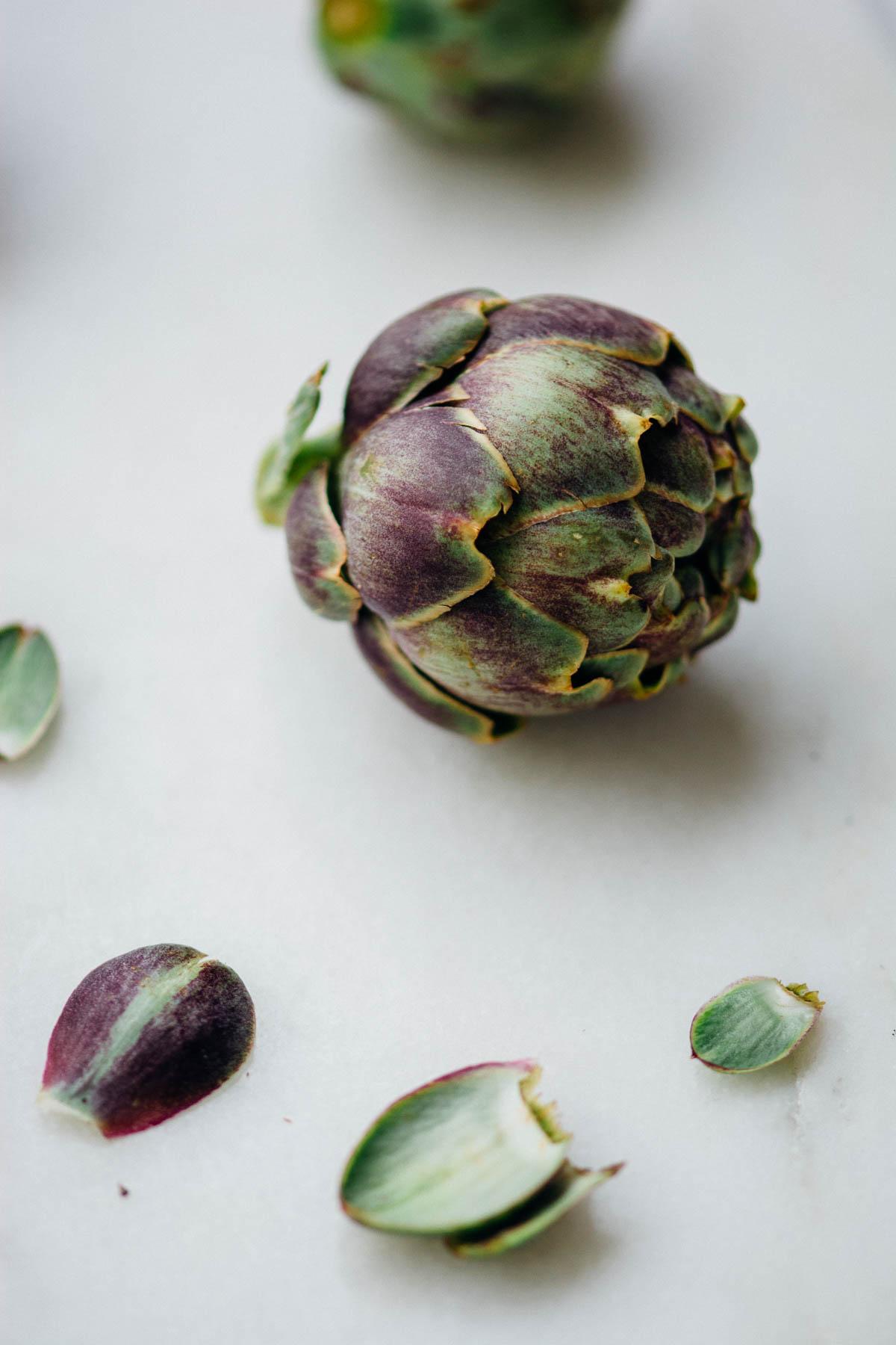 Green Goddess Spring Veggies Bowl {vegan, gluten-free} | www.scalingbackblog.com