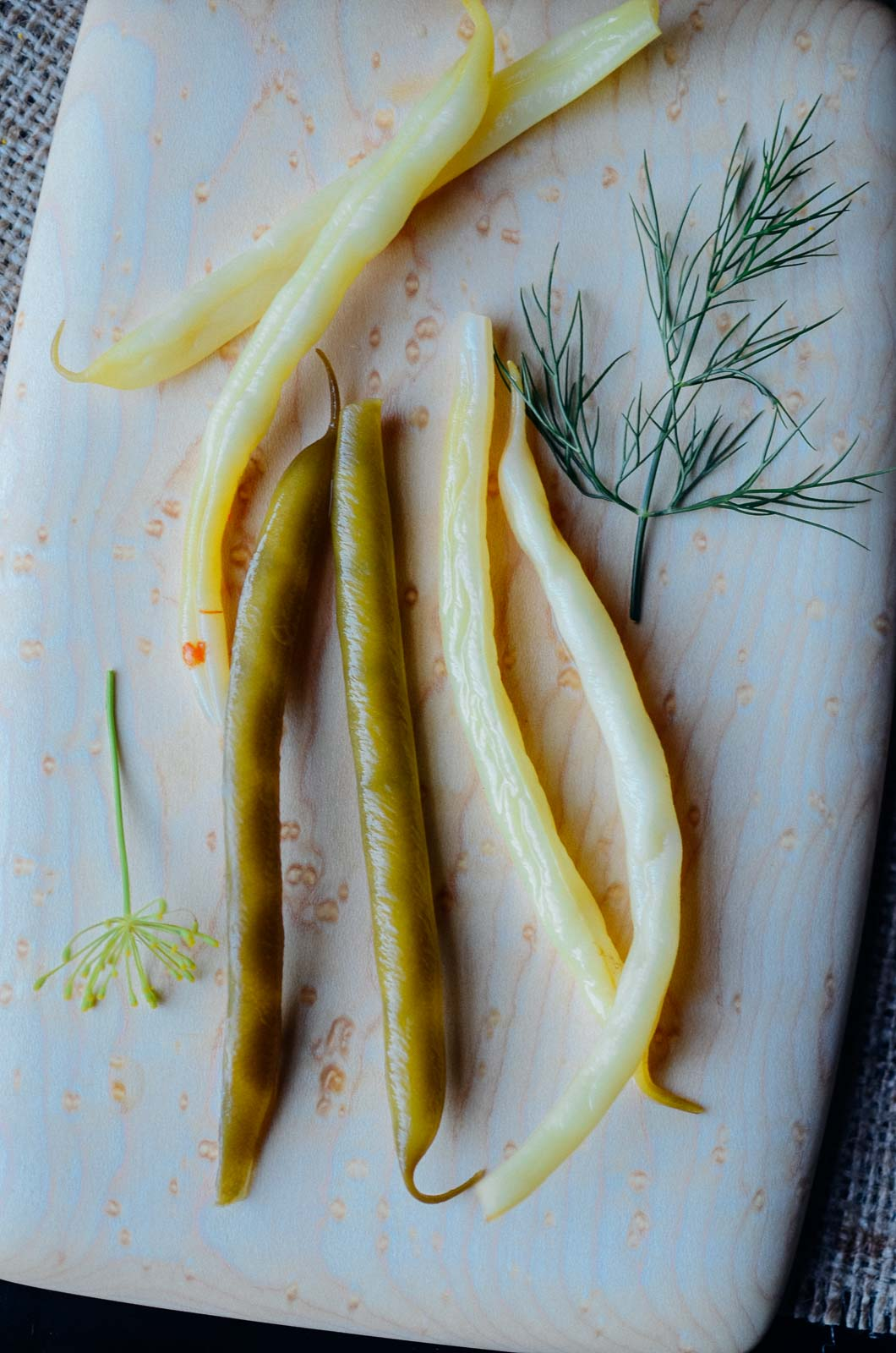 Pickled and preserved spicy green beans | Scaling Back